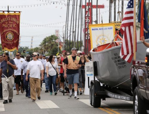 Labor groups show off their solidarity at annual Labor Day march in Wilmington