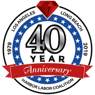 Los Angeles / Long Beach Harbor Labor Coalition Logo